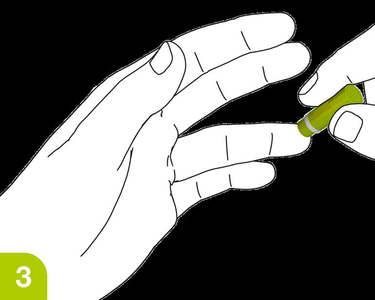Seguridad de la aplicación Lancetas: active el mecanismo de la lanceta
