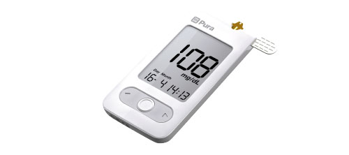 mylife Pura, Pure design for reliable blood sugar levels.